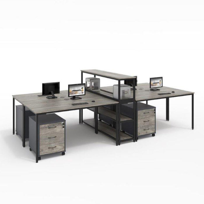 macphersons_office_furniture_durban_4_way_cluster_with_center_storage