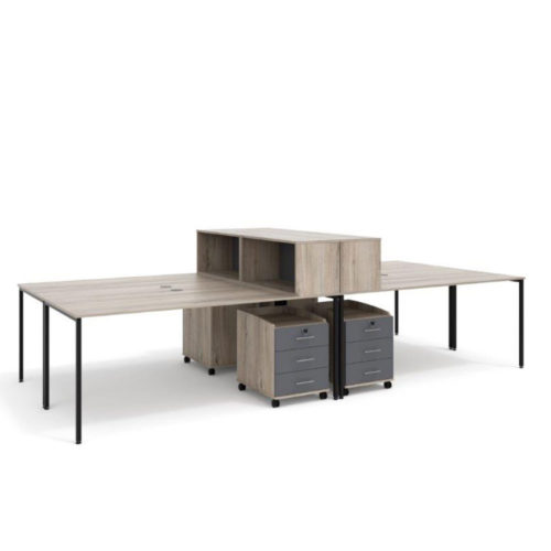macphersons_office_furniture_durban_4_way_cluster_with_top_unit_bookcase
